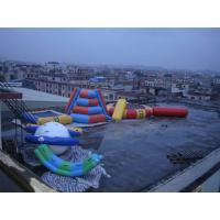 Wholesale Durable Inflatable Water Sports Trampoline Combo with Logo printing from china suppliers