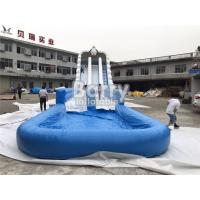 China Custom Size Large Outdoor Commercial Inflatable Giant Water Slide For Event on sale