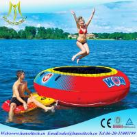 China Hansel terrfic bounce round castle for swimming party water toy on sale