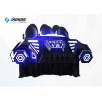 Coin Oprtated Virtual Reality Simulator 9D 6 Seats Platform With Deepoon VR Glasses