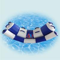 China Lightweight Inflatable Water Toys For Lake / Colored Inflatable Aqua Park on sale