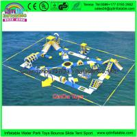 Wholesale Commercial Water Bicycles For Sale Obstacle Courses Durable Inflatable Water Bike For Amusement Park from china suppliers