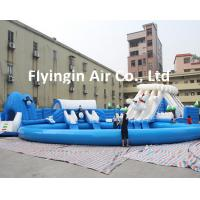 Wholesale Giant Pvc Inflatable Water Slide Inflatable Swimming Pool Inflatable bounce for Kids and Adult from china suppliers