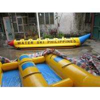 China Single Line 7 Person Inflatable Banana Boat For Outdoor Entertainment In Sea on sale