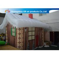 Wholesale Inflatable Christmas Decoration House Inflatable Tent House / Snow House from china suppliers