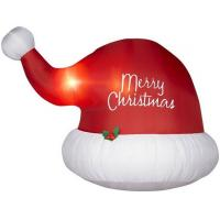 Wholesale Inflatable santa claus hat from china suppliers