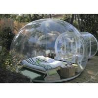 Wholesale Waterproof Transparent Bubble Tent , Outdoor Inflatable Bubble Camping Tent from china suppliers