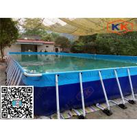 China Rectangular Inflatable Swimming Pool Durable For amusement  park on sale
