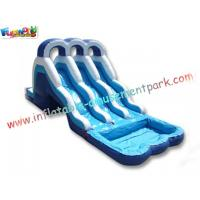 Wholesale OEM Renting Kids Commercial Outdoor Inflatable Bounce Houses Water Slides for pools from china suppliers