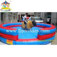 Wholesale Funny Inflatable mechanical rodeo bull small amusement park equipment from china suppliers
