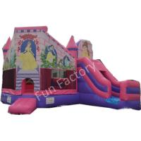 Wholesale Safety Family Fun Inflatable Combo Bouncer House With UL / CE Certificates from china suppliers