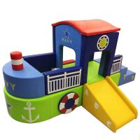 Childrens Large Foam Play Mats With Customized Size/pirate boat kids soft play/indoor soft play area