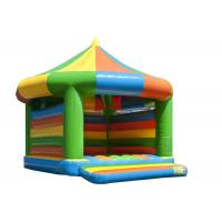 China Kindergarten Baby Inflatable Bounce House Fireproof 6.5 * 5.2 * 5.1m Safe Nontoxic on sale