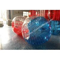 Wholesale PVC Half colour Bumper ball,Bubble Soccer ball,human zorbing ball,Hamster Ball for adult from china suppliers
