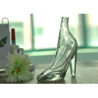 Home Decoration Fantastic Women High Heel Clear Glass Wine Bottle