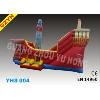 Wholesale Pirate Waterproof Commercial Inflatable Slides YHS-004 with 0.55mm PVC Tarpaulin from china suppliers