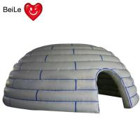 Wholesale 210D  reinforced oxford material Kids outdoor and indoor Inflatable dome play forts from china suppliers