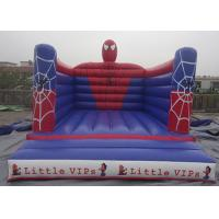 Wholesale Outdoor Spiderman Inflatable Jumping Castle Bouncy Castle For Kids PVC Tarpaulin from china suppliers