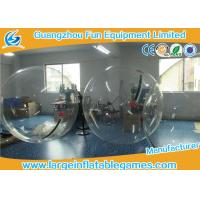Quality Transparent Inflatable Walk On Water Bubble Ball For Summer Water Game for sale