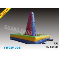 Wholesale Commercial 0.55mm PVC Tarpaulin Outdoor Inflatable Climbing Wall YHCW 005 from china suppliers