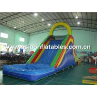 China giant adult inflatable water slide inflatable slide on sale