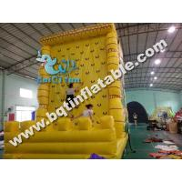 Wholesale Hot sell Inflatable climbing wall,rock climbing from china suppliers