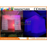 Wholesale Custom Inflatable Cube Tent / Led Inflatable Air Tent Trade Show Room from china suppliers