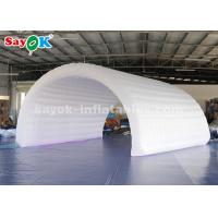 6*3*3m White Inflatable Tunnel Tent Durable Oxford Cloth For Event Easy To Clean