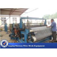 Wholesale Customized Crimped Wire Mesh Equipment , Fencing Wire Making Machine Large Size from china suppliers
