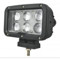 Wholesale 7 Square Led Marine Searchlight , 30 Degee Spot 12v Truck Led Headlights from china suppliers