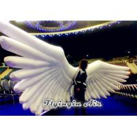 Wholesale Large Holy White Inflatable Wings Costumes for Activity and Party from china suppliers