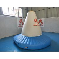 Wholesale Fire Resistant Inflatable Water Sport Blow Up Rocket Blue And White from china suppliers