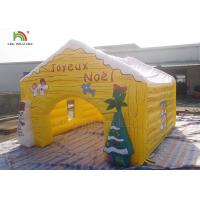 Wholesale Customized Size Inflatable Advertising Products Christmas House Snowma Tent from china suppliers