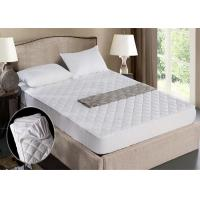 Wholesale King Hotel Mattress Protector Elastic Feather Cotton And Outside Polyester from china suppliers
