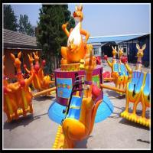 China 12 seats fairground happy jump kangaroo fun fair rides for sale on sale