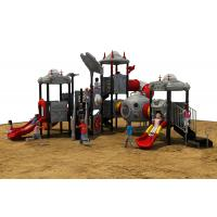 Wholesale Qitele Plastic Slide Type Galvanized steel swing and slide sets for children from china suppliers