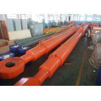 Wholesale Custom Deep Hole Single Acting Hydraulic Cylinder For Hydropower Dump Truck from china suppliers