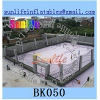 Wholesale Customized Large Inflatable Paintball Bunkers Arena with Net For Paintball Games from china suppliers