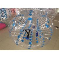 China Colorful Dot Inflatable Bubble Ball Dia 100cm Body Bumper Balls on sale