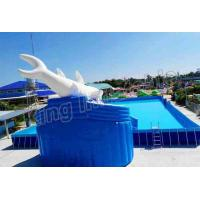 Wholesale Commercial Inflatable Water Slide Park 0.9mm PVC Tarpaulin Blow Up Water Park from china suppliers