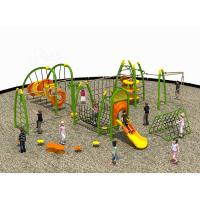Wholesale Multifunctional Childrens Outdoor Playset UV Resistance For Kindergarten from china suppliers