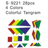 Wholesale Tangram, Educational Toy, Teaching Aids, Colorful Tangram (S-9221) from china suppliers