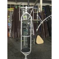 China Custom Color Kids Outdoor Gym Equipment With Climbing Net / Slide Bar on sale