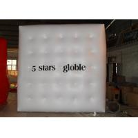 China Helium Inflatable Cube Balloon / Inflatable Advertising Balloons for Outdoor Event Promotion on sale
