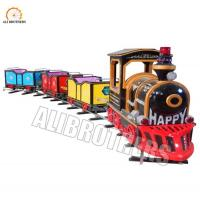 Wholesale 4m * 16m Space Size Amusement Train Rides Kiddie Vintage Track Train 1000w Power from china suppliers