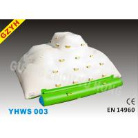 Wholesale Inflatable Iceberg with 1 Side Sliding and 3 Sides Climbing for Water Park from china suppliers