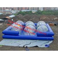 China inflatable pool toys bubble inflatable pool inflatable hamster ball pool on sale