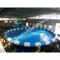 Wholesale Inflatable round pool,inflatable swimming pool,water park,aqua zone from china suppliers