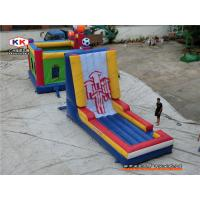 Wholesale CE Body Velcro Wall inflatable amusement park For Jumping Hire from china suppliers
