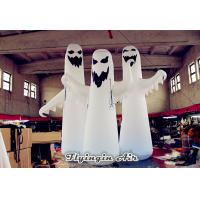 Wholesale 2m/2.5m/3m Height White Halloween Inflatable Ghost with Light for Sale from china suppliers